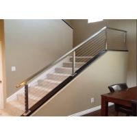 China Residential Handrail Stainless Steel Cable Railing Systems For Stair And Balcony on sale