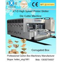Buy cheap 2200mm Width Alloy Steel Carton Automatic Corrugated Box Making Machine product