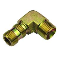 Buy cheap O Ring Boss Hydraulic Fittings 90° Elbow Bsp Thread Adjustable Stud Ends from wholesalers
