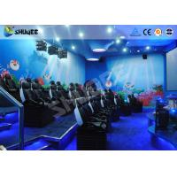 Buy cheap 9 Seats 5D Cinema System Equipment Motion Chair With Many Special Effects product
