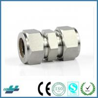 Buy cheap union connector stainless steel compression fittings hot male tube fittings from wholesalers
