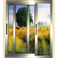 Buy cheap 1.0mm - 1.2mm profile thickness integrated insect screens aluminum sliding windows from wholesalers