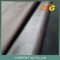 Buy cheap 100% PVC 140cm Width 0.9mm Thickness Pvc Leather For Sofa / Car Seat Cover from wholesalers