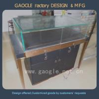 Buy cheap high quality Tempered glass jewelry shop interior design from wholesalers