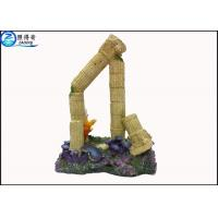Buy cheap Marine Curved Column Ruins Fish Tank Aquarium Ornament  Decorations For Household from wholesalers