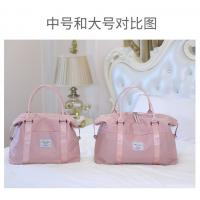 Buy cheap Women ' s Duffel Bags 33 * 50 * 18CM , Pink Color Ladies Sports Bag from wholesalers