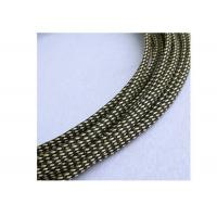 Buy cheap Electrical PET Expandable Braided Sleeving Black For Heat Insulation Cable Protection from wholesalers