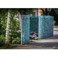 Buy cheap Gabion Fence System Stone Mesh Retaining Wall 80 * 100 Mm Hole Size from wholesalers