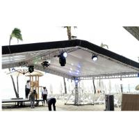 Buy cheap Outdoor aluminum concert stage roof lighting truss from wholesalers