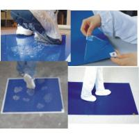 Buy cheap Customerized Cleanroom Tacky Mat White / Blue 0.035mm - 0.045mm from wholesalers