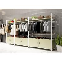 Buy cheap Wood Landing Clothing Display Showcase Multi Functional Customized Color product