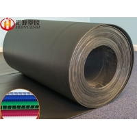 Buy cheap 12x24 280gsm ESD Black Corrugated Plastic Rolls from wholesalers