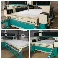 Buy cheap pure water cutting 1500*2500MM water jet cutting machine with 100mm thickness white plastic honeycomb platform from wholesalers