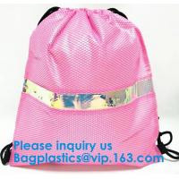Buy cheap Leather Backpack Women Drawstring Bag New Travel Bag PU Backpack Women Party School Bags For Teenagers, bagease package from wholesalers