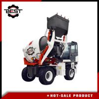 Buy cheap 2 cubic meters self loading small concrete mixer truck for sale from wholesalers