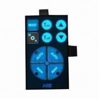 Buy cheap Tactile Membrane Switch with LED and EL Noctilucent Layer from wholesalers
