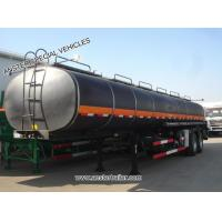 Buy cheap 30/40/50 m3 /cbm Oil, Diesel, Petroleum Tanker Trailer for Sale with Q235 material from wholesalers