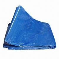Buy cheap Tarpaulin, Made of PE, Various Colors Available product