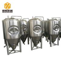 Buy cheap Large Beer Fermentation Tanks 4 Stainless Steel Legs With Leveling Foot Pads from wholesalers