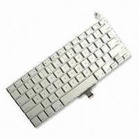Buy cheap 13.3-inch US Layout Laptop Keyboard For Apples Macbook A1304 MC233, MC234, White Color, Original New from wholesalers