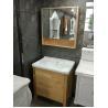 Buy cheap Burlywood Color 32 Inch Single Sink Bathroom Vanity , Square Bathroom Cabinet from wholesalers