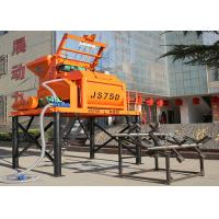 Buy cheap High Technology Twin Shaft JS750 Stationary Concrete Mixer 750L Concrete Mixer product