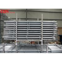 Buy cheap Multipurpose Layher Scaffolding System Ringlock Standards Horizontal Bay Brace from wholesalers