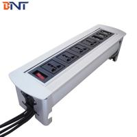 Buy cheap High-class  Chairman  Room Furniture Flip Up Outlet Connector With 2*VGA Network Configuration from wholesalers