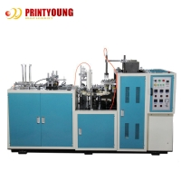 Buy cheap 70pcs/Min PE Coated Paper Cup Forming Machine For Cold Drinks from wholesalers
