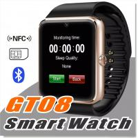 Buy cheap GT08 Bluetooth Smart Watch with SIM Card Slot and NFC Health Watchs for Android Samsung and IOS Apple iphone Smartphone from wholesalers
