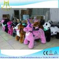 Buy cheap Hansel coin operated animal joy rides happy rides on animals electric motorized walking animal rides from wholesalers