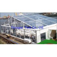 Buy cheap Transparent glass giant tent, wedding party tent, aluminium frame tent 20 x 30 m from wholesalers