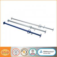 Buy cheap Size 48.3mm 60.3mm steel shoring props, customized construction used telescopic steel prop from wholesalers