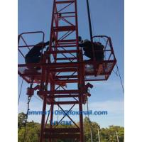 Buy cheap 2tons Building Material Hoist 24M Working Height 380V/50Hz or Others Power from wholesalers