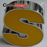 Buy cheap 3d acrylic letter sign backlit letters sign Brush decorative metal letters from wholesalers