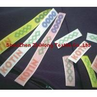 Buy cheap Clear / Transparent Hook And Loop Fastener Tapes Silk Screen Printing For Trademark from wholesalers