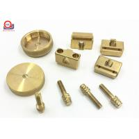 Buy cheap Customized Office Furniture Hardware Parts , High Accuracy Brass Hardware Parts from wholesalers