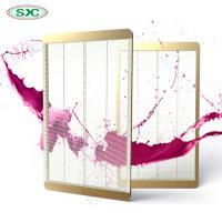 Buy cheap Window Transparent LED Screen , Smd 2121 Transparent Led Panel 4500cd Brightness from wholesalers