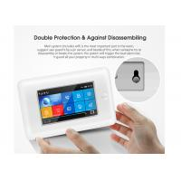Buy cheap Full Touch Screen Wireless Security Alarm System GSM 3G WIFI 2 Years Warranty product