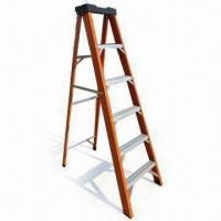 Buy cheap 6ft Fiberglass Ladder with 5 Steps and 113kg Load Rating product