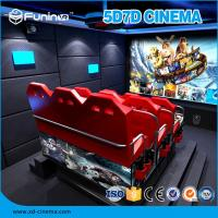 Buy cheap 22PCS VR + 70 PCS 8D 10D 7D Movie Theater , Truck Mobile 5D 12D Cinema Equipment from wholesalers