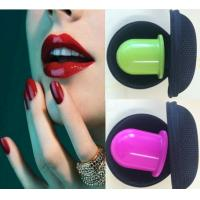 Buy cheap Non Toxic Red Green Natural Lip Plumper Tool , Silicone Soft Lip Enhancer Cup from wholesalers