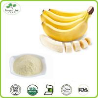 Buy cheap 100% Natural Freeze Dried Fruit Power / Banana Powder from wholesalers