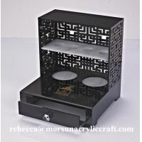 Buy cheap Plexiglass Bathroom Ware Holder Acrylic Storage Box for Hotel Supplies from wholesalers