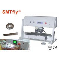 Buy cheap High Efficiency V Cut Machine PCB Board Machine With Large Stainless Steel Platform from wholesalers