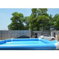 Buy cheap 0.9mm PVC Large Inflatable Backyard Swimming Pool Commercial Grade from wholesalers