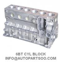 Buy cheap Cummins 6BT Engine Cylinder Block Quality Guaranteed Engine Spare Parts from wholesalers