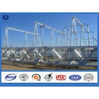 Buy cheap Hot Dip Galvanized Electricity Transmission Substation Structure Steel Pole from wholesalers