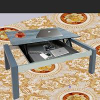 Buy cheap Grey Lift Top Coffee Table With Hidden Storage Compartment Space Save from wholesalers