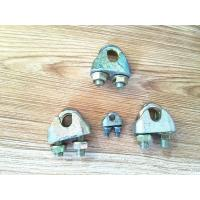 Buy cheap Various Color Rigging Hardware / Wire Rope Clips Zinc Galvanized Surface from wholesalers
